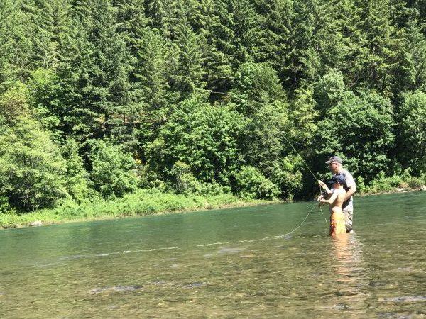 Landing a Fish / TiffanyAOlson.com